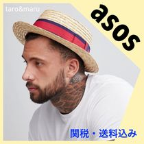 ASOS Street Style Straw Boaters Straw Hats