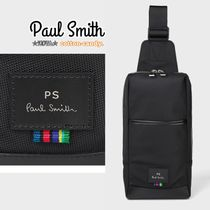 Paul Smith Stripes Nylon Plain Messenger & Shoulder Bags