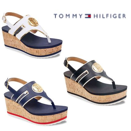 8733838f975d Tommy Hilfiger 2018 SS Platform   Wedge Sandals by BlueBubbles - BUYMA