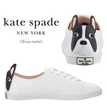 kate spade new york Casual Style Other Animal Patterns Low-Top Sneakers