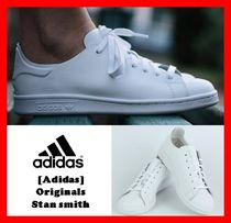adidas STAN SMITH Casual Style Unisex Street Style Leather Low-Top Sneakers
