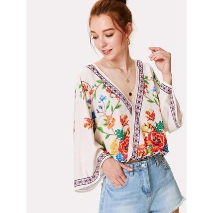 Shirts & Blouses Casual Style Long Sleeves Shirts & Blouses 2