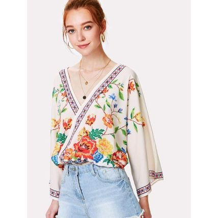 Shirts & Blouses Casual Style Long Sleeves Shirts & Blouses 3