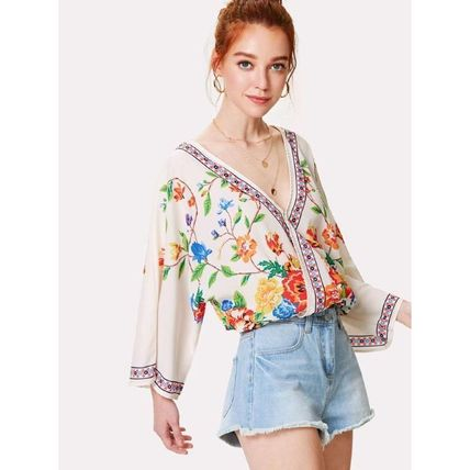 Shirts & Blouses Casual Style Long Sleeves Shirts & Blouses 4