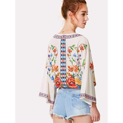 Shirts & Blouses Casual Style Long Sleeves Shirts & Blouses 5