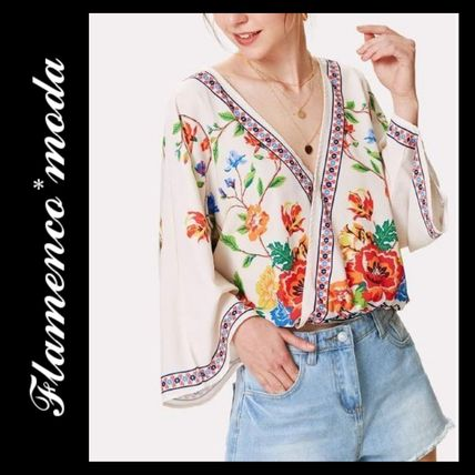 Shirts & Blouses Casual Style Long Sleeves Shirts & Blouses