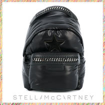 Stella McCartney FALABELLA Casual Style Chain Plain Backpacks