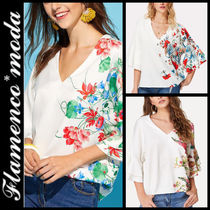 Casual Style V-Neck Shirts & Blouses