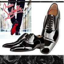 Christian Louboutin Straight Tip Moccasin Leather Loafers & Slip-ons