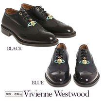 Vivienne Westwood Wing Tip Loafers Plain Leather Loafers & Slip-ons