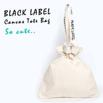 Casual Style Cambus Plain Purses Shoppers