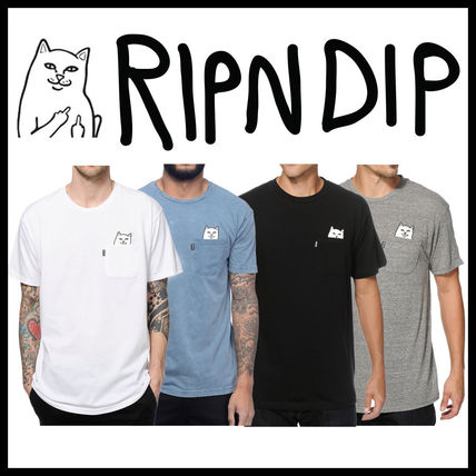 RIPNDIP More T-Shirts Street Style Cotton Short Sleeves T-Shirts