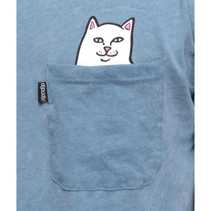 RIPNDIP More T-Shirts Street Style Cotton Short Sleeves T-Shirts 7