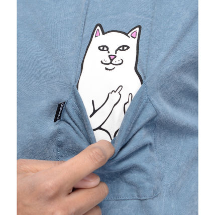 RIPNDIP More T-Shirts Street Style Cotton Short Sleeves T-Shirts 8