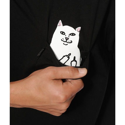 RIPNDIP More T-Shirts Street Style Cotton Short Sleeves T-Shirts 11