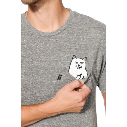 RIPNDIP More T-Shirts Street Style Cotton Short Sleeves T-Shirts 13