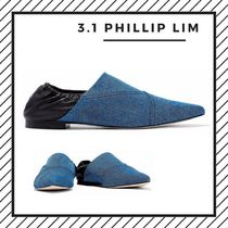 3.1 Phillip Lim Casual Style Blended Fabrics Street Style Leather