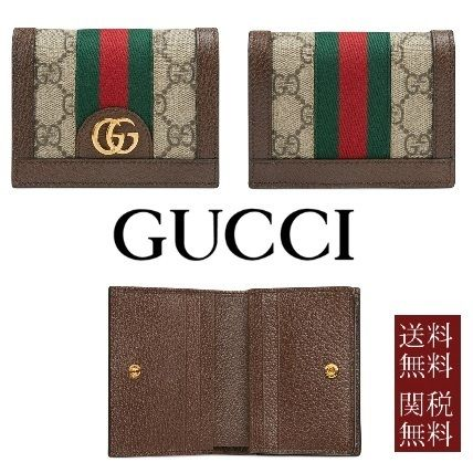 c2738c3a947da0 GUCCI Ophidia Unisex Leather Card Holders by いもっちゃんちゃん - BUYMA