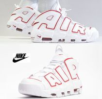 Nike AIR MORE UPTEMPO Street Style Plain Sneakers