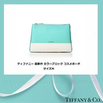 Tiffany & Co Vanity Bags Plain Leather Elegant Style Shoulder Bags
