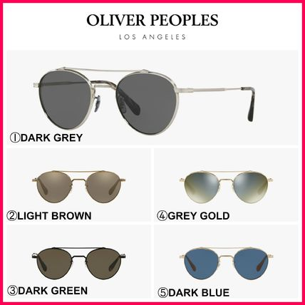 Blended Fabrics Round Sunglasses
