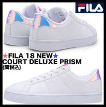 FILA Court Deluxe Casual Style Street Style Low-Top Sneakers