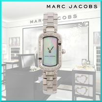 MARC JACOBS Square Quartz Watches Stainless Elegant Style Analog Watches