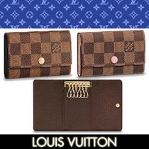Louis Vuitton DAMIER Other Check Patterns Leather Keychains & Holders