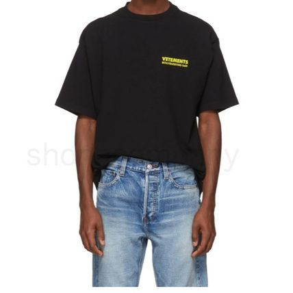 VETEMENTS More T-Shirts Unisex Street Style Cotton Short Sleeves T-Shirts 3