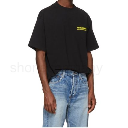 VETEMENTS More T-Shirts Unisex Street Style Cotton Short Sleeves T-Shirts 4