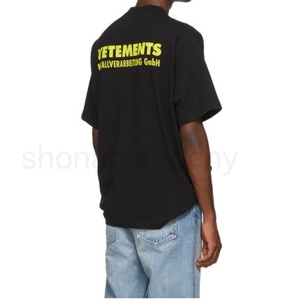 VETEMENTS More T-Shirts Unisex Street Style Cotton Short Sleeves T-Shirts 5