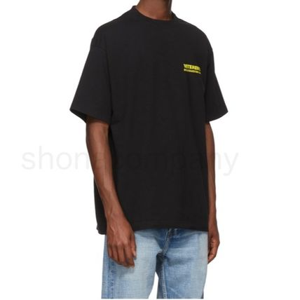 VETEMENTS More T-Shirts Unisex Street Style Cotton Short Sleeves T-Shirts 6