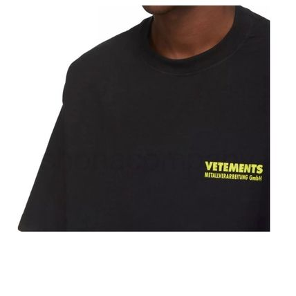 VETEMENTS More T-Shirts Unisex Street Style Cotton Short Sleeves T-Shirts 7