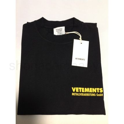 VETEMENTS More T-Shirts Unisex Street Style Cotton Short Sleeves T-Shirts 2