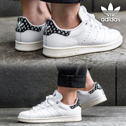 best sneakers 1cf91 bda49 adidas STAN SMITH 2018 SS Dots Unisex Street Style Low-Top Sneakers (BZ0568)