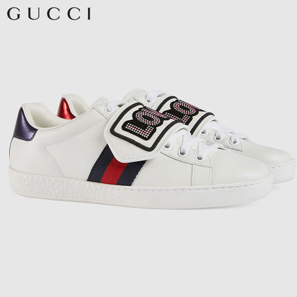 9ffadc09d28 GUCCI Ace 2018 SS Low-Top Sneakers (505329 0FI10 9060) by EU SHOES ...