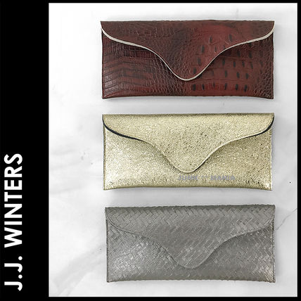Plain Other Animal Patterns Elegant Style Clutches