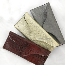 J.J. WINTERS Plain Other Animal Patterns Elegant Style Clutches