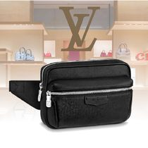Louis Vuitton Plain Leather Bags