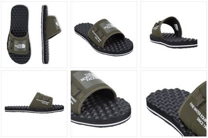 14ee244b974d ... THE NORTH FACE Shower Sandals Unisex Street Style Shower Shoes Khaki  Shower Sandals 18 ...