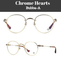 CHROME HEARTS Unisex Round Optical Eyewear