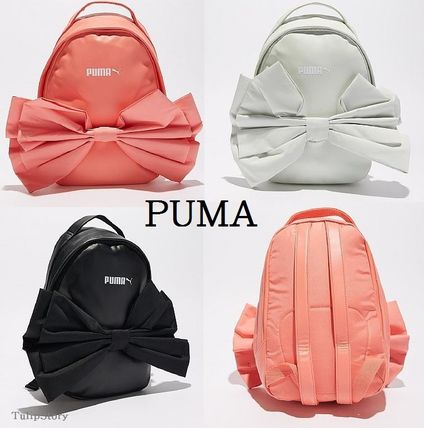 2631753cef PUMA 2018 SS Faux Fur Backpacks by TulipStory - BUYMA