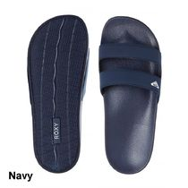 ROXY Casual Style Plain Shower Shoes PVC Clothing Flat Sandals