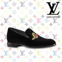 994f62be7e70 Louis Vuitton 2018 SS 18AW AUTEUIL SLIPPER   Black Velvet Moccasin (1A3OUY)  by KENRAN Japan - BUYMA