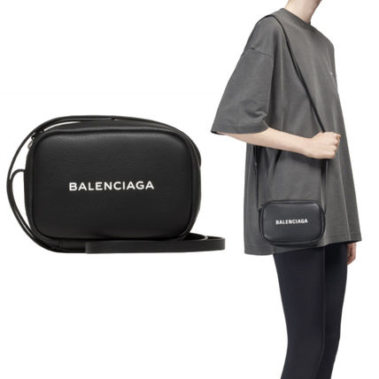 422d02be5a76 ... BALENCIAGA Shoulder Bags Casual Style Plain Leather Shoulder Bags ...