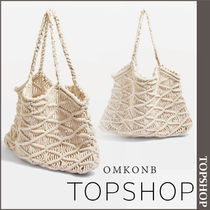 TOPSHOP Casual Style Straw Bags