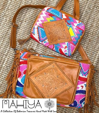 Handmade Fringes Mothers Bags