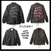 ANTI SOCIAL SOCIAL CLUB Camouflage Unisex Street Style Plain Outerwear