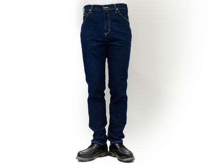 LEE More Jeans Tapered Pants Unisex Street Style Jeans 3