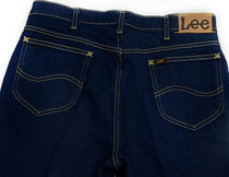 LEE More Jeans Tapered Pants Unisex Street Style Jeans 8